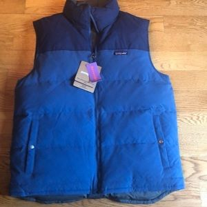 New Patagonia reversible Down vest